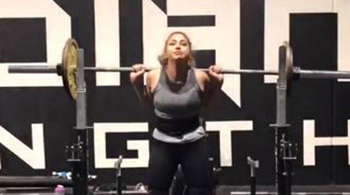 Powerlifter Maryam Nasim preparing for her next challenge