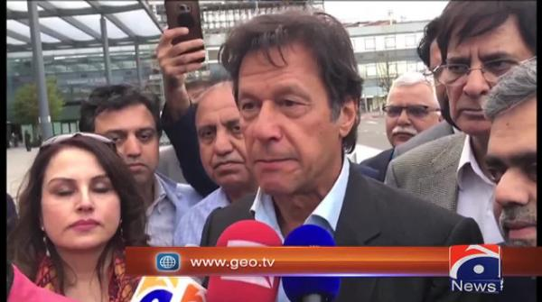 Imran Khan says wishes caretaker set-up to be decided through consultation