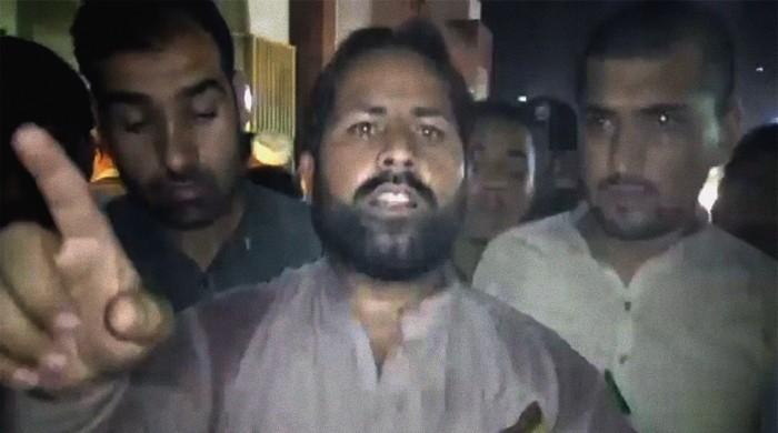 Father of Peshawar baby who ingested acid, died accuses hospital staff of negligence