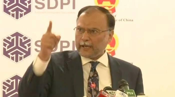 Ahsan Iqbal rejects allegations, 'if you have evidence produce it before me'
