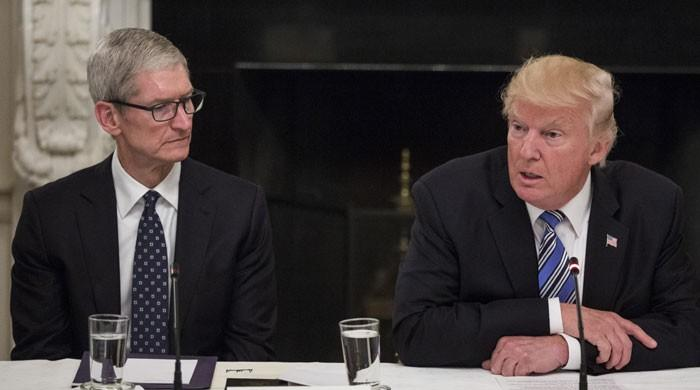 Trump, Apple CEO Cook to talk trade at White House