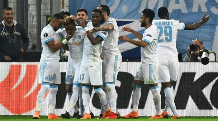Marseille take control in Europa League semi against Salzburg