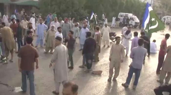 JI protests against water, power shortages across Karachi today