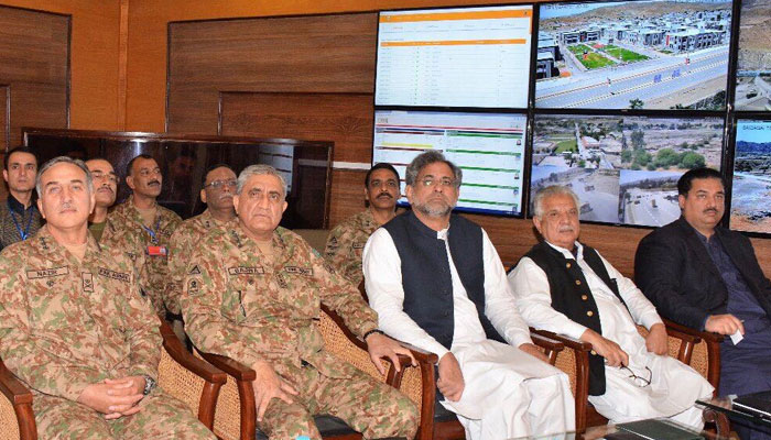 PM Abbasi inaugurates market complex, trade terminal in North Waziristan Agency