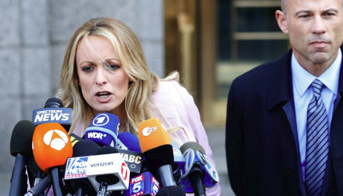 Stormy Daniels sues President Trump for 'total con job' tweet