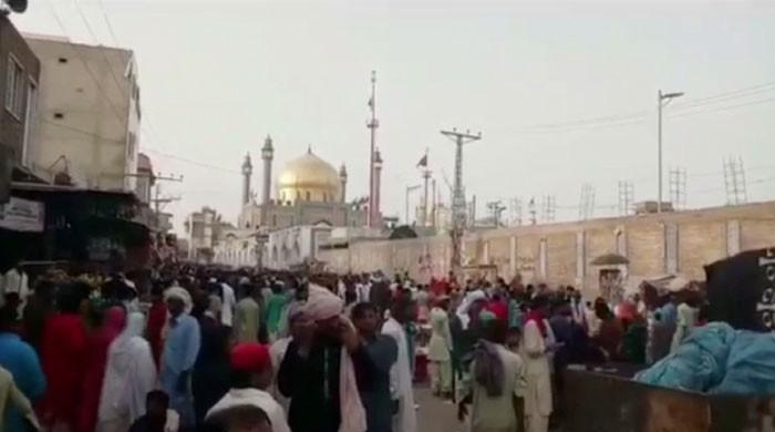 Devotees reach Sehwan to commemorate Lal Shahbaz Qalandar's urs