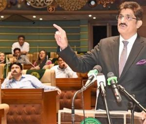 Sindh government presents Rs1.144tn budget for FY18-19