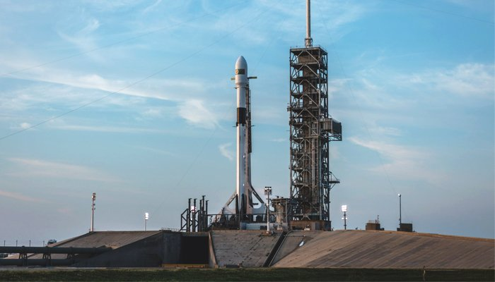 SpaceX launches new rocket primed for future crewed ...