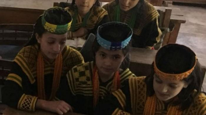 School in Kalash where heritage is preserved in people
