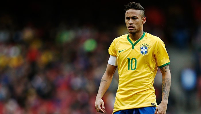new concept cb2e0 6999a Neymar named in Brazil's 23-man World Cup squad | Sports ...