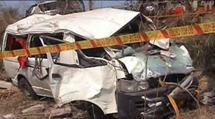Five dead, six injured in traffic accident in District Attock: motorway sources