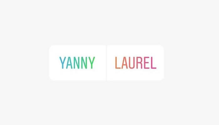 Yanny or Laurel? For Trump the question is not so simple