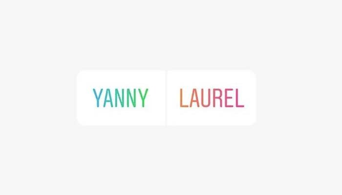 White House, Trump weigh in on 'Laurel' versus 'Yanny' debate