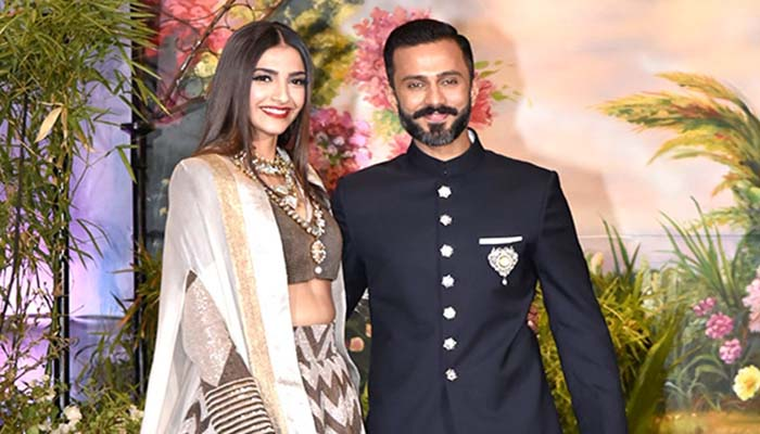 Like Sonam 'K' Ahuja, hubby Anand adds 'S' in his name