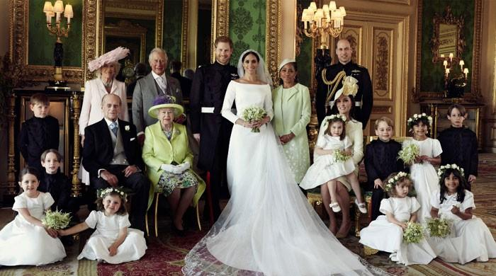 Official photos of royal wedding released