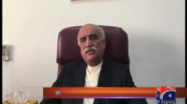 Khursheed Shah announces to leave politics if Imran implements 100-day plan