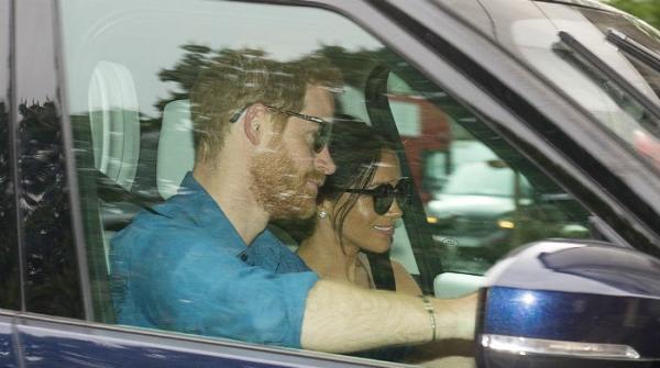 Harry, Meghan return to Kensington Palace after Royal Wedding