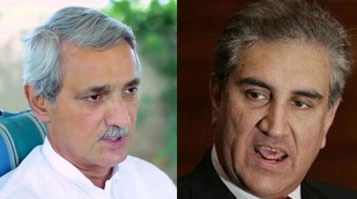 Qureshi, Tareen exchange heated words in PTI core group meeting: sources