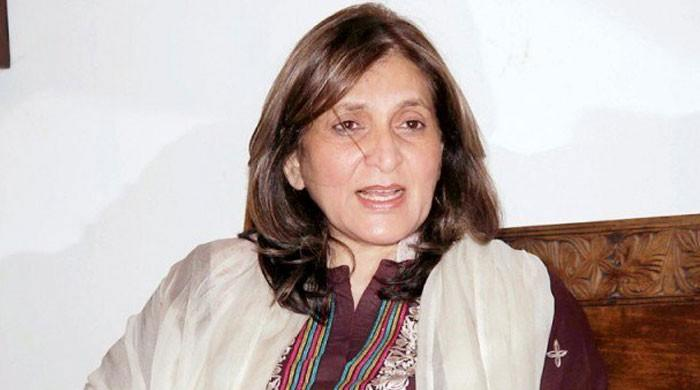 Fauzia Kasuri announces quitting PTI