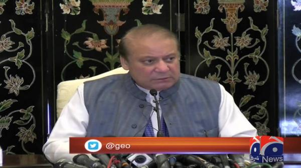Nawaz says cases against him are a result of treason trial against Musharraf