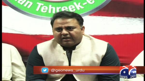 Nawaz has no regrets over his actions: Fawad Chaudhry