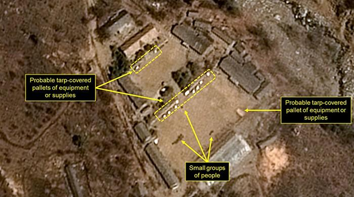 North Korea says 'completely' dismantled nuclear test site