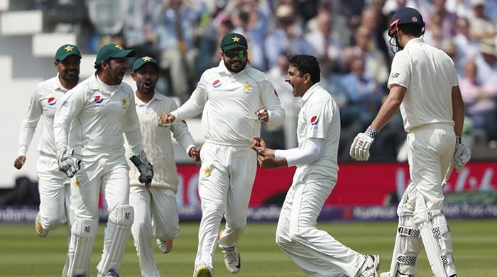 England lead by 56 runs as Buttler, Bess resist Pakistan