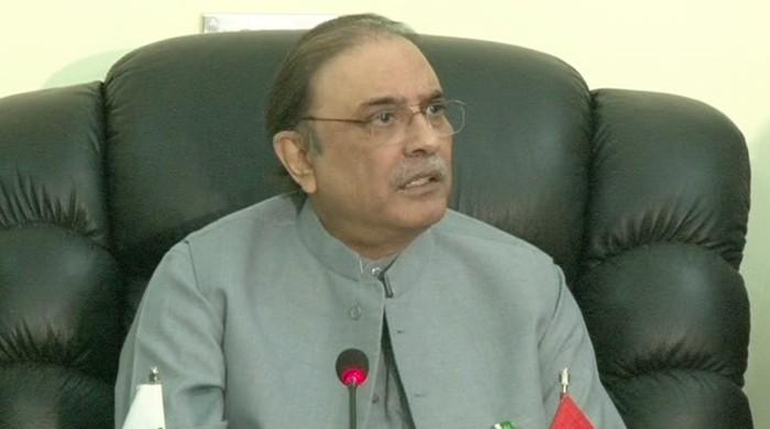 Nawaz should make it clear if he is with Pakistan, says Zardari