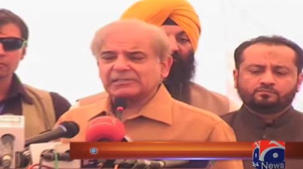Imran Khan has destroyed Peshawar: Shehbaz Sharif
