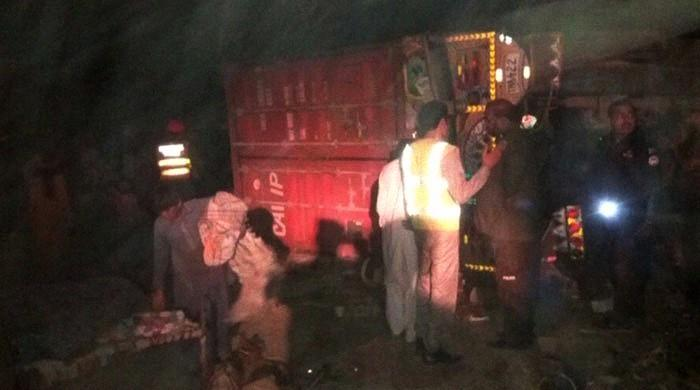 Nine dead in separate truck-related accidents in RYK, Multan