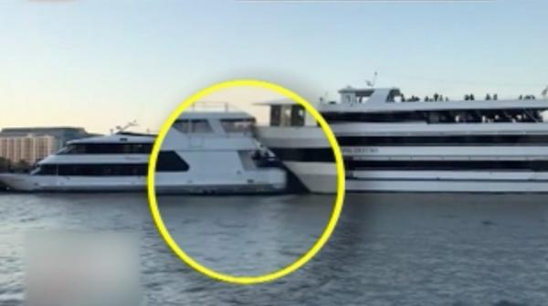 Yachts collide in New Jersey