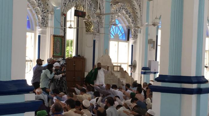 Special prayers for rain held in Karachi