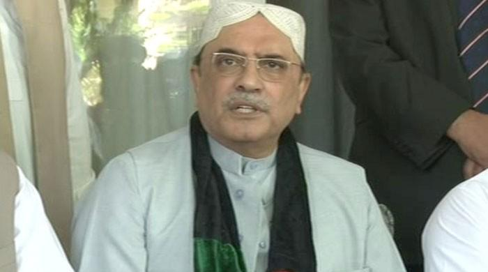 Zardari announces to contest election from Nawabshah