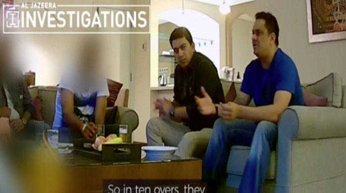 Sting video shows ex-Pakistan cricketer Hasan Raza in presence of alleged spot-fixers