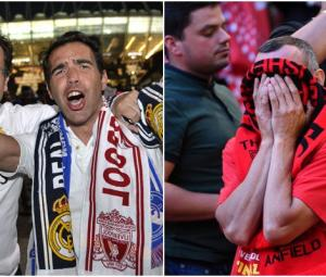 Shock, tears, euphoria: Fans react to Real Madrid vs Liverpool final