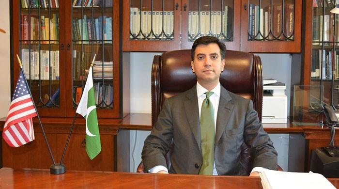 Ali Jahangir Siddiqui takes charge as Pakistan's Ambassador to US