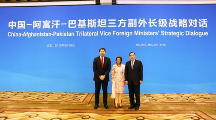 Pakistan, China, Afghanistan hold trilateral strategic dialogue in Beijing