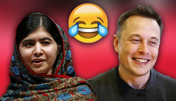SpaceX's Elon Musk and Malala Yousafzai tweet cute over ClickHole's Starman parody