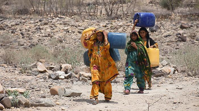 Leaving Balochistan in search of water