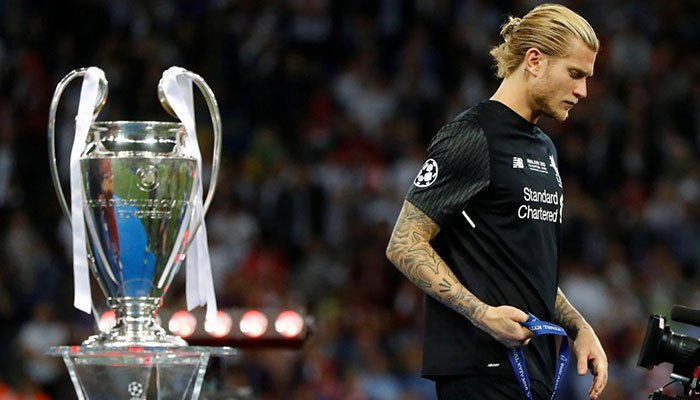Liverpool's Karius suffered concussion in Champions League final, says doctor