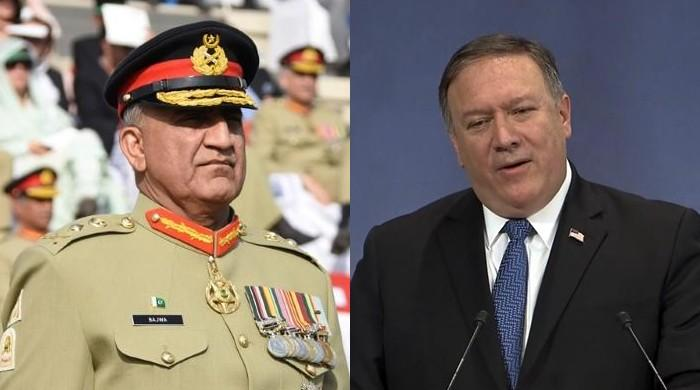 Pompeo, Pak Army chief talk 'political reconciliation in Afghanistan'