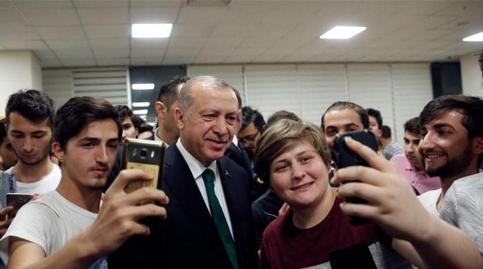 'I am coming if your tea is ready': Turkish president joins students for Suhoor