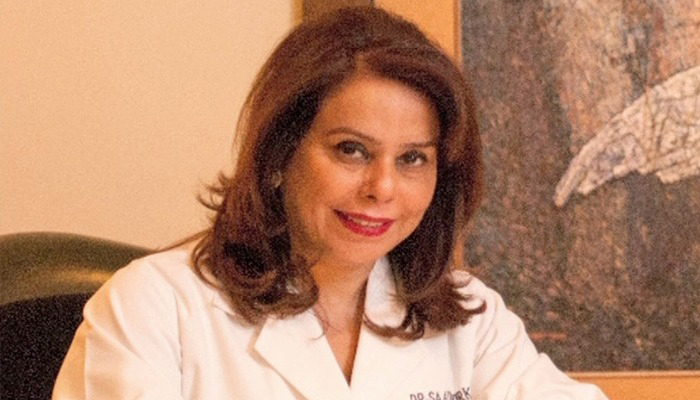 Dr Sadia Virk Rizvi. Photo: Geo News file