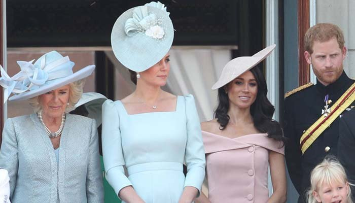 Did you spot the Duchess of Cornwall's grandchildren at Trooping the Colour?