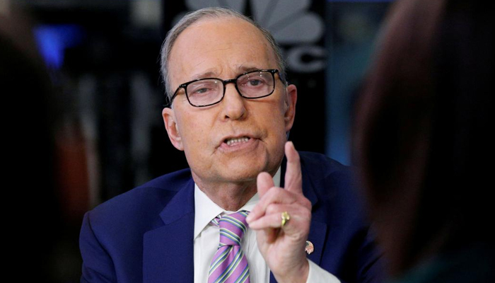 Key Trump aide Larry Kudlow suffers a heart attack
