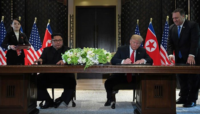 Kim Summit: Kim agrees to denuclearize the Korean peninsula