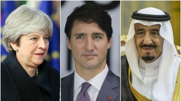 International leaders send Eid greetings