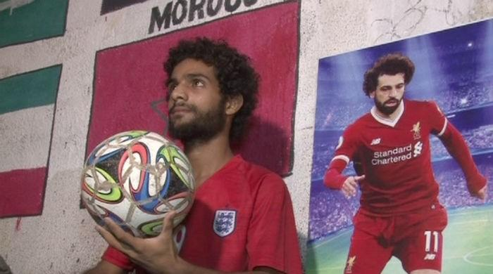 Mohamed Salah's Pakistani lookalike eyes football glory