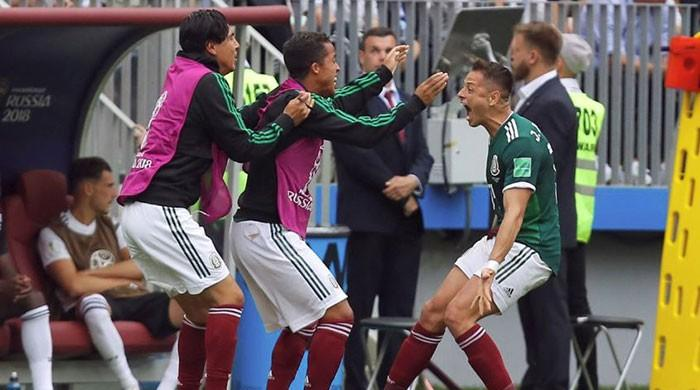 Mexico stun defenders Germany 1-0 in World Cup opener
