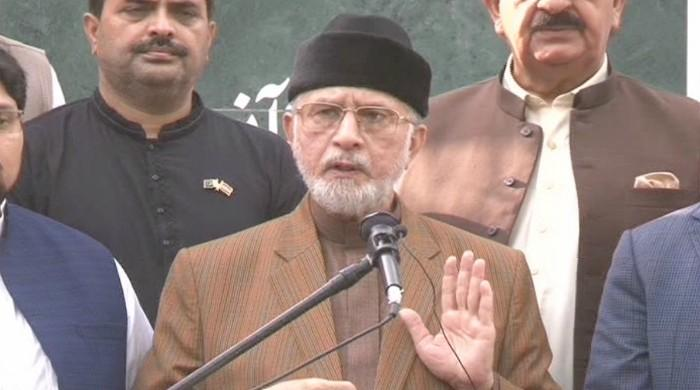 Tahirul Qadri demands Model Town incident perpetrators be suspended